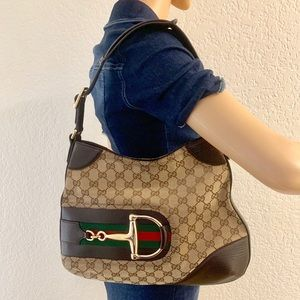 Gucci Horsebit Hobo style Bag